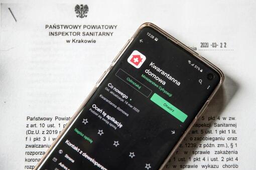 Koronawirus w Polsce. Aplikacja Kwarantanna domowa obowiązkowa od 1 kwietnia 2020 | Tech