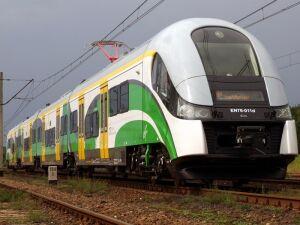 Od wtorku dłuższe dwa pociągi Kolei Mazowieckich