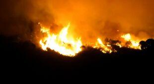 Pożar w Maladze