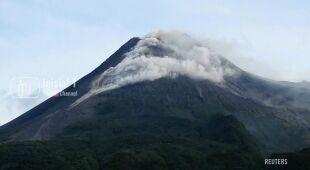 Erupcja wulkanu Merapi w Indonezji