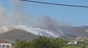 Pożar na Zakintos