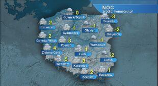 Prognoza pogody na noc 23.11/24.11