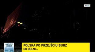 Polska po przejściu burz/TVN 24